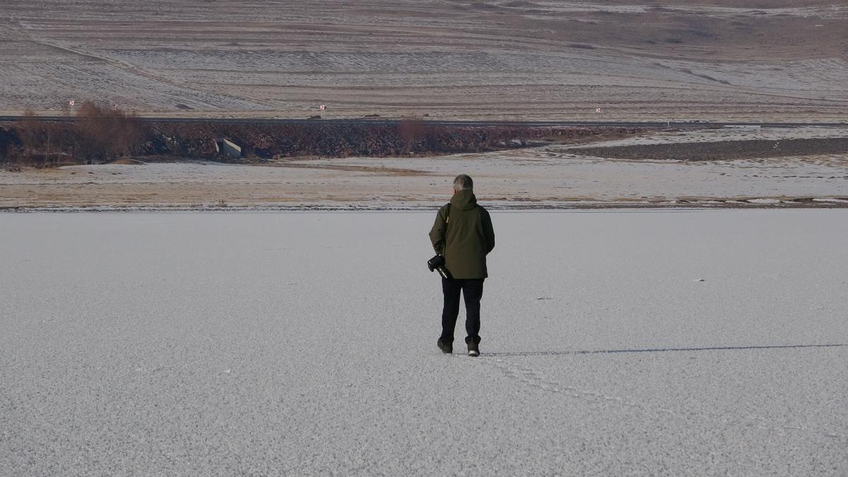 Ardahan'da Aktaş Gölü dondu - Resim: 4