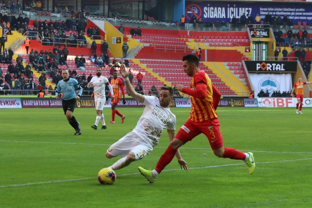 Kayserispor 1 1 Ankarag U00fcc U00fc