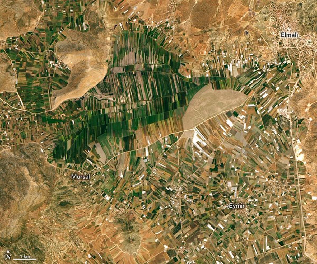 Uzaydan Toros Dağları... NASA paylaştı