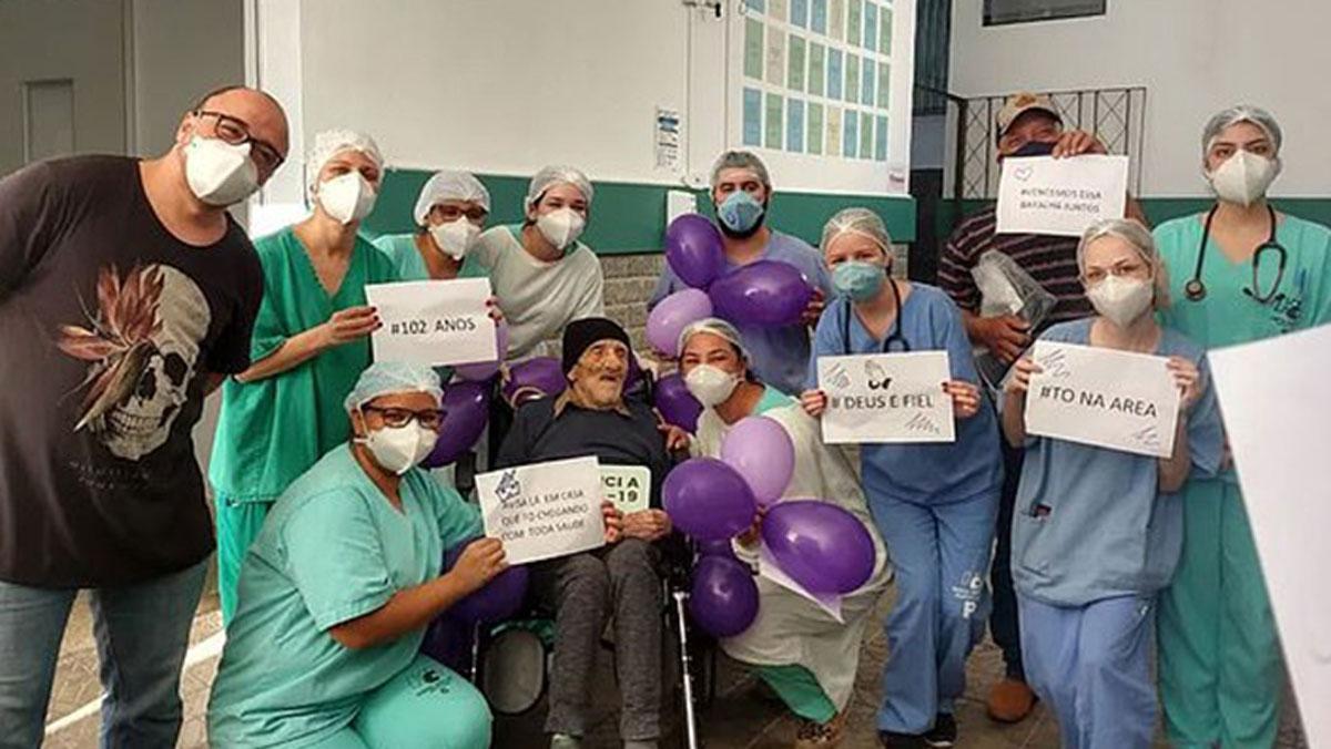 9 aylıkken İspanyol gribini, 102 yaşında koronavirüsü yendi