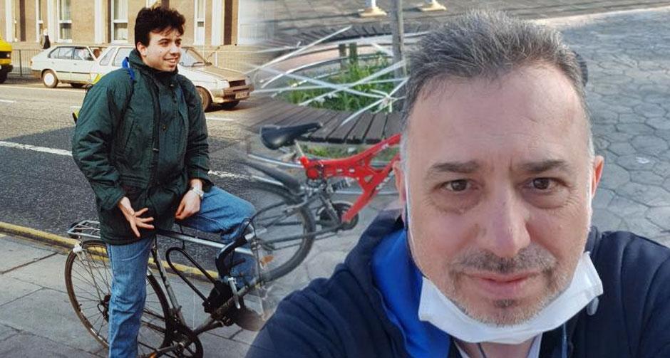 Bakan Soylu'nun açıklamalarının ardından AYM üyesi Engin Yıldırım'dan bisikletli paylaşım