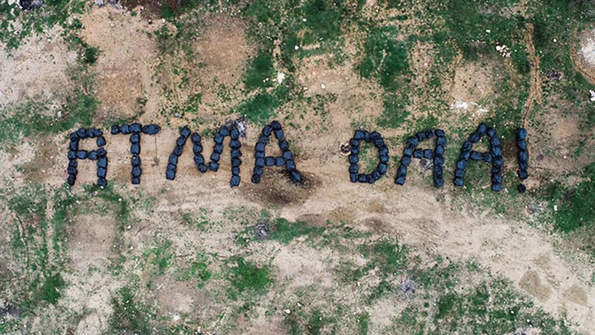 Temizlik işçilerinden şiveli sitem: Atma daa!
