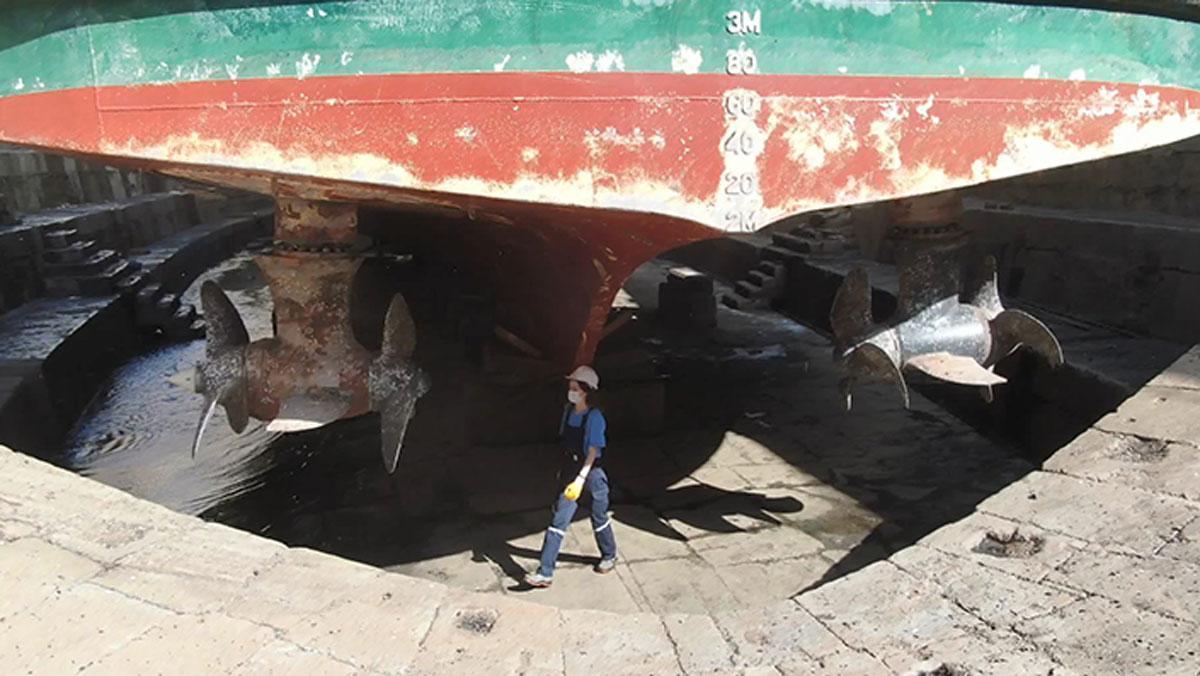 Kadın gemiciler ilk kez vapurlarda