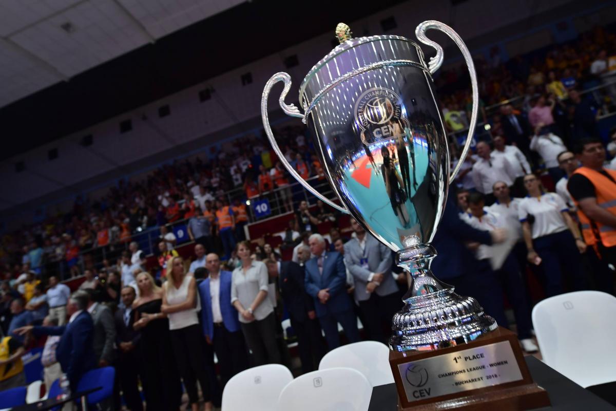 CEV Şampiyonlar Ligi'nde koronavirüs sebebiyle 5 maç iptal