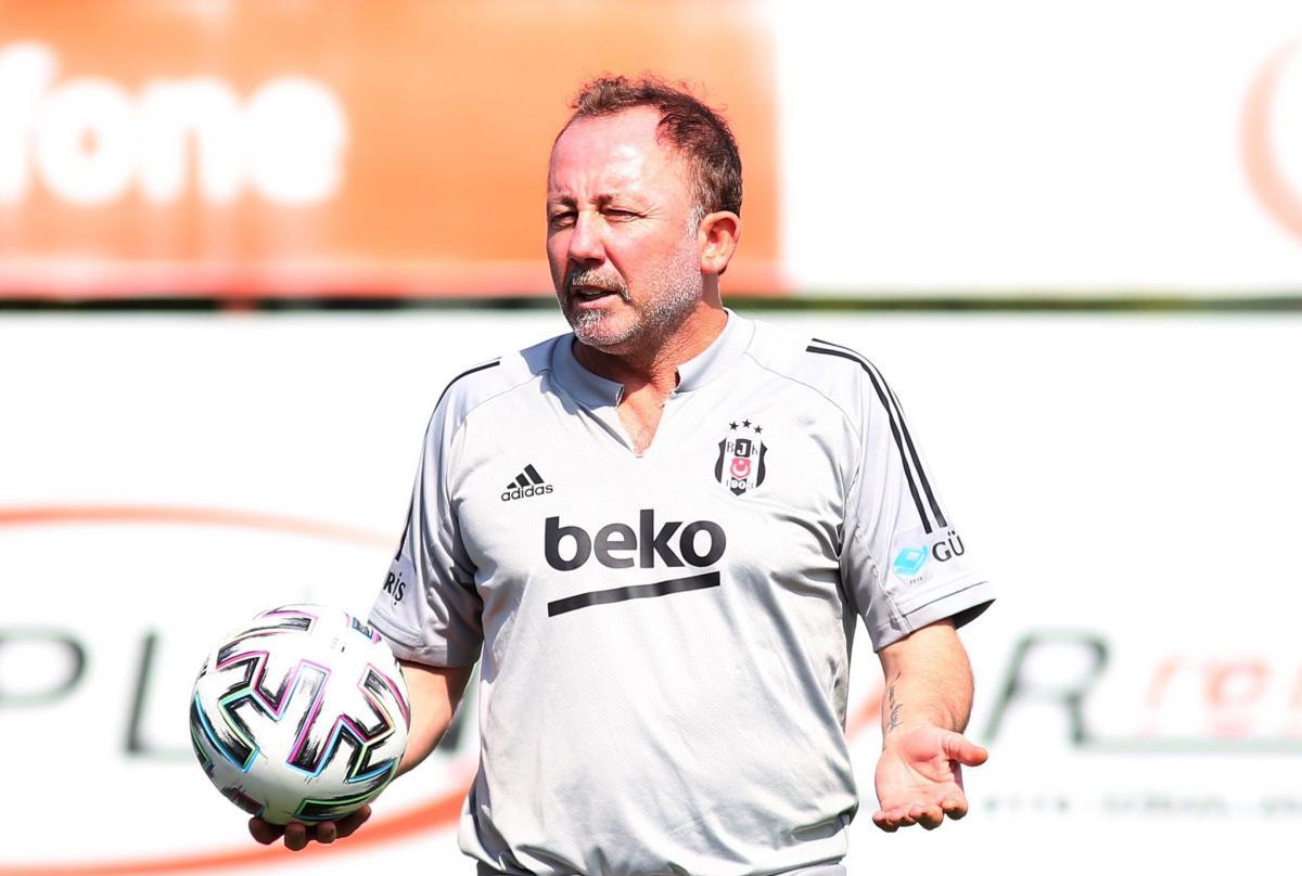 Beşiktaş'ta Sergen Yalçın sevinci