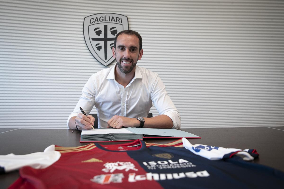 Cagliari, Diego Godin'i transfer etti