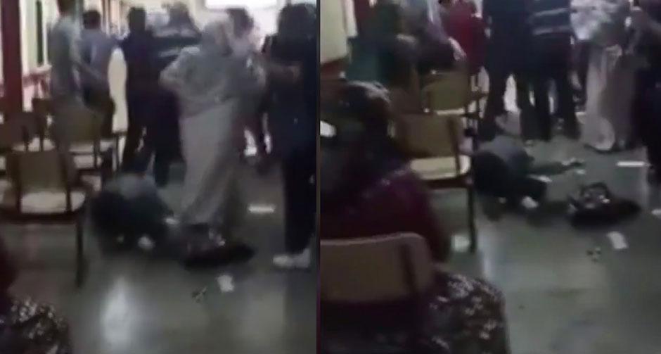Çapa'da maske tartışmasında sağlık çalışanına şiddet