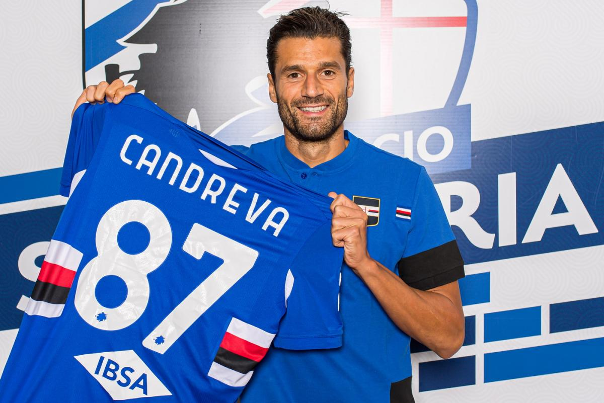 Sampdoria, Candreva'yı Inter'den kiraladı