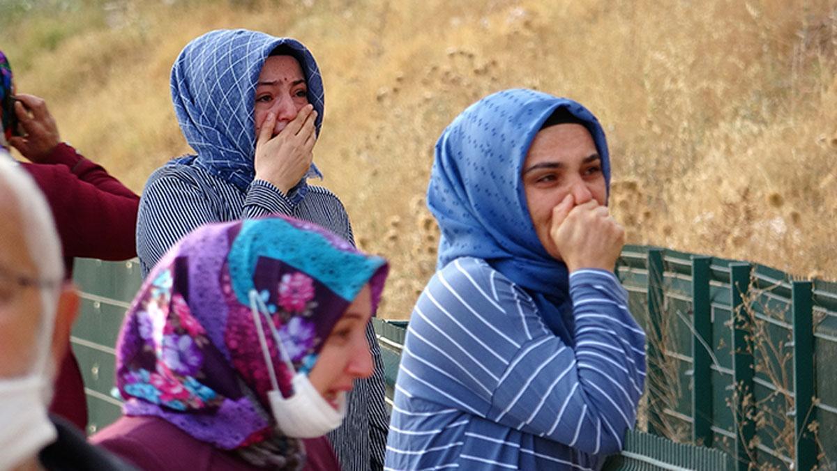 Karşılaştıkları manzarayla gözyaşlarına boğuldular