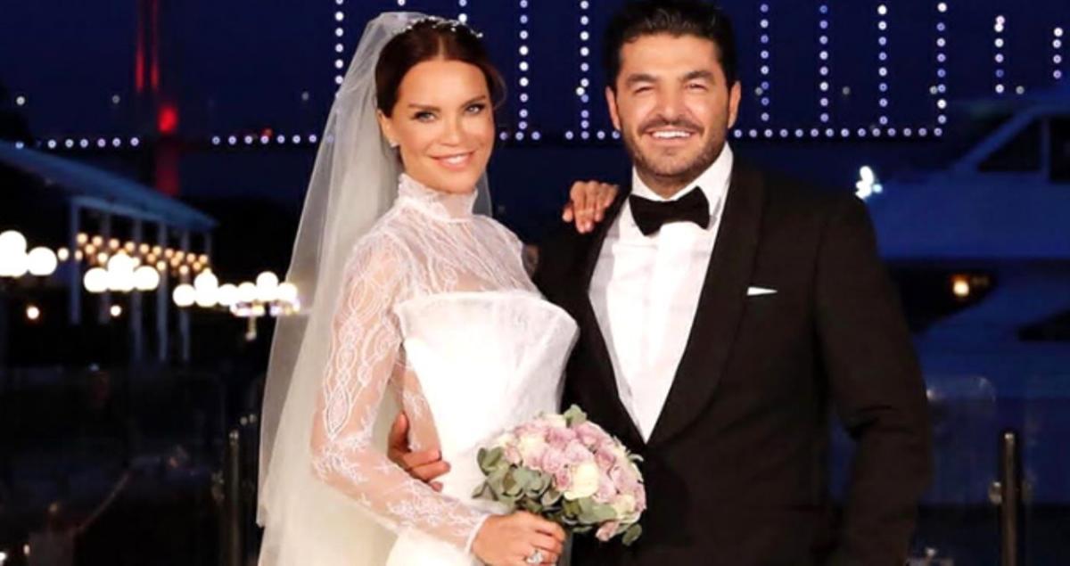 Ebru Şallı'dan birinci evlilik yıl dönümü paylaşımı