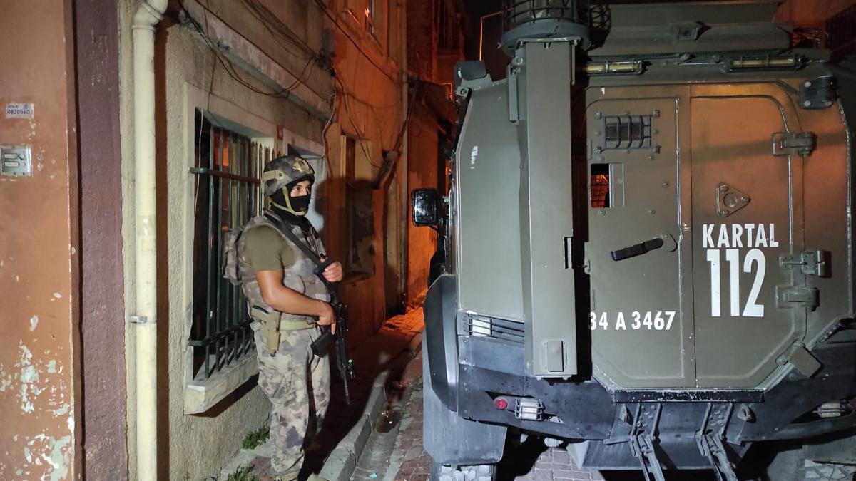İstanbul'da terör örgütü PKK'ya operasyon: 7 gözaltı