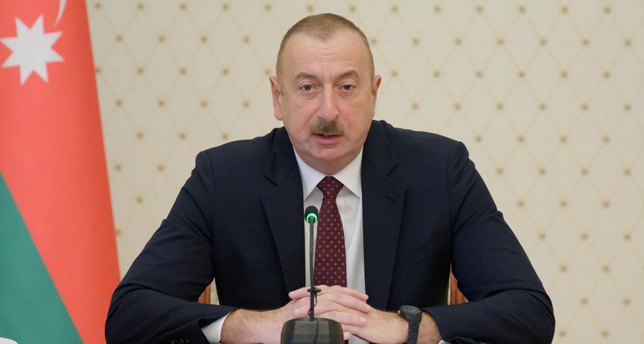 Aliyev ulusa seslendi
