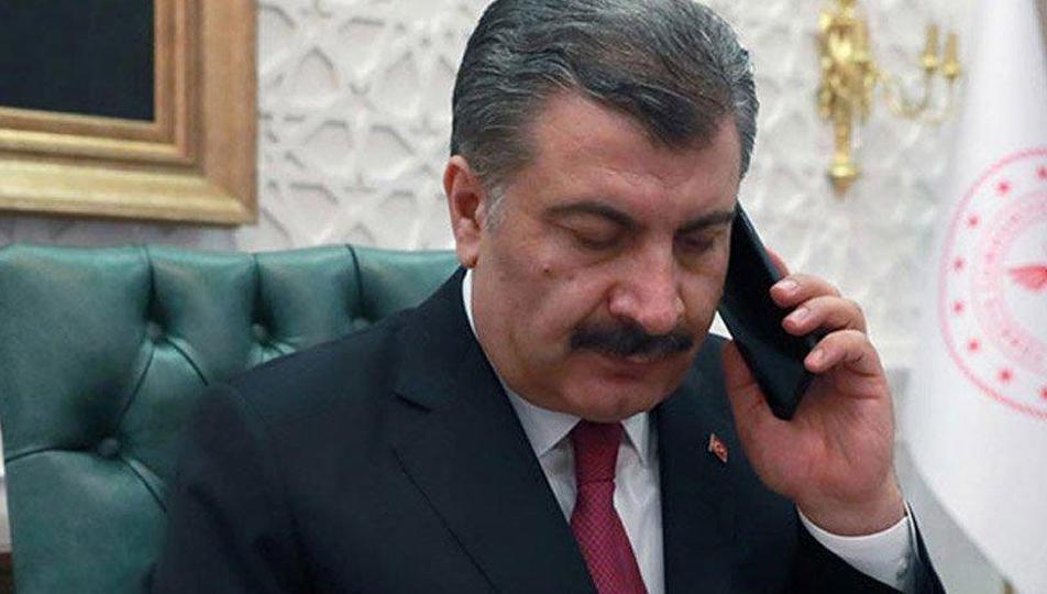 Bakan Koca, Azerbaycanlı mevkidaşı ile görüştü