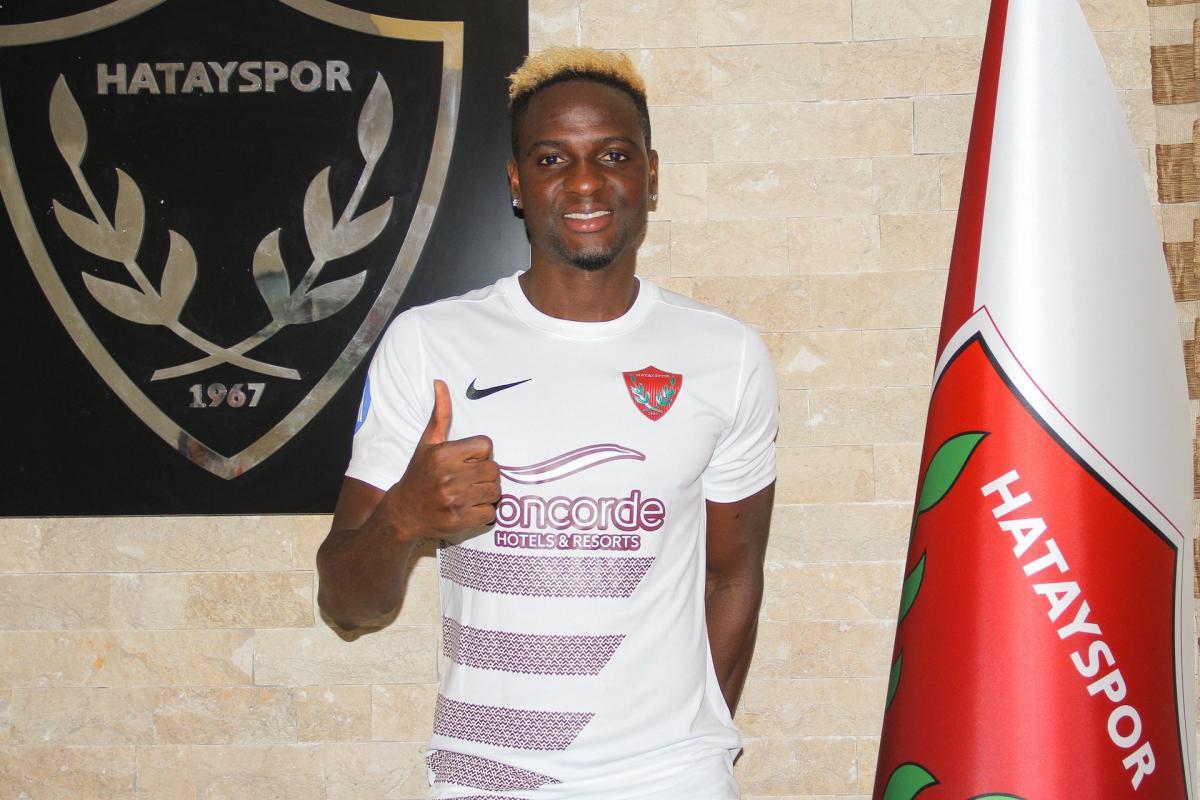 Hatayspor, Nijeryalı kanat oyuncusunu açıkladı