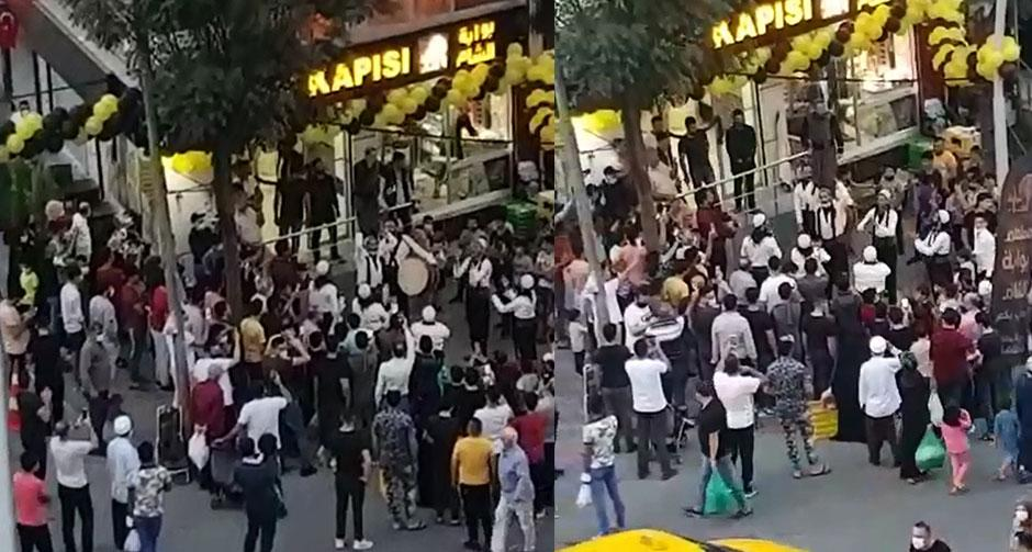 İstanbul'da akılalmaz manzara!