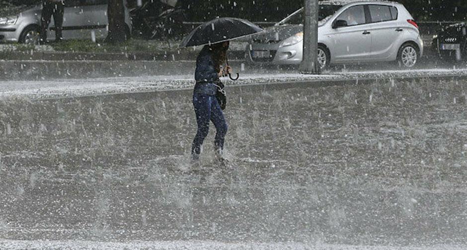 3 ilde kuvvetli yağış, sel ve dolu riski