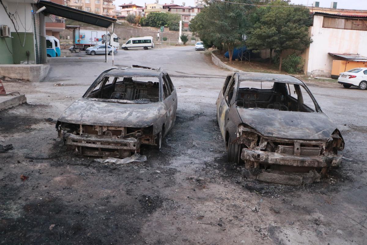 Hatay'daki yangın 33 saat sonra kontrol altına alındı! Yürek burkan manzara  ortaya çıktı