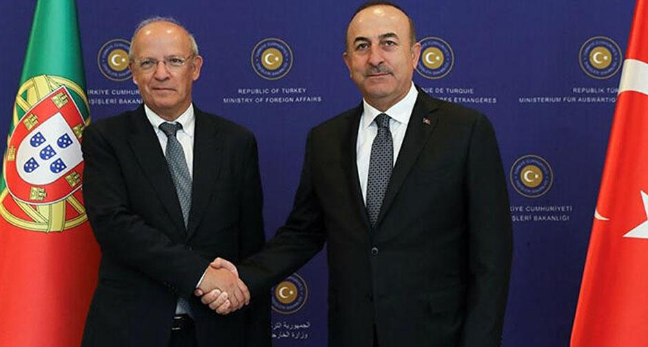 Bakan Çavuşoğlu, Portekizli mevkidaşıyla görüştü
