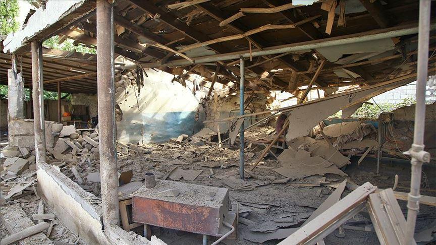 Ermenistan'dan yerleşim yerlerine balistik füzelerle saldırı