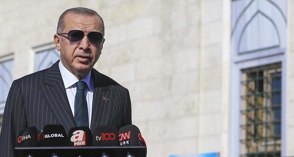 Erdoğan: Rusya kadar, barış içinde yer alma hakkımız var