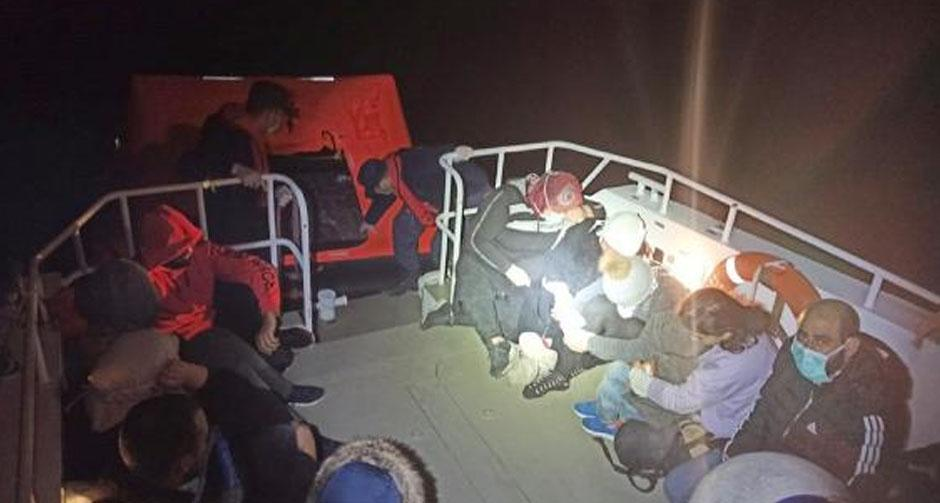 37 kaçak göçmen daha kurtarıldı