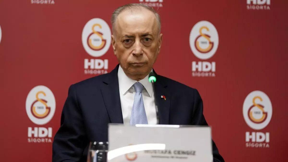 Galatasaray Başkanı Mustafa Cengiz'e istifa çağrısı
