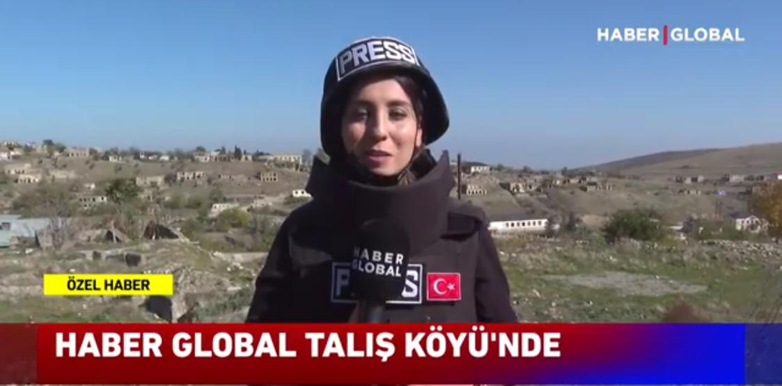 Haber Global işgalden kurtarılan stratejik Talış köyüne gitti
