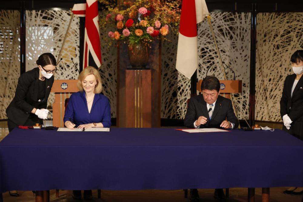 Brexit sonrası ilk ticaret anlaşması!