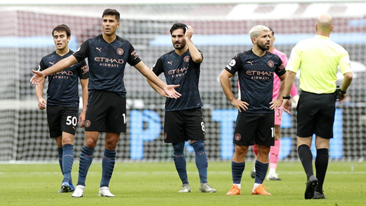 Manchester City, West Ham United deplasmanında takıldı