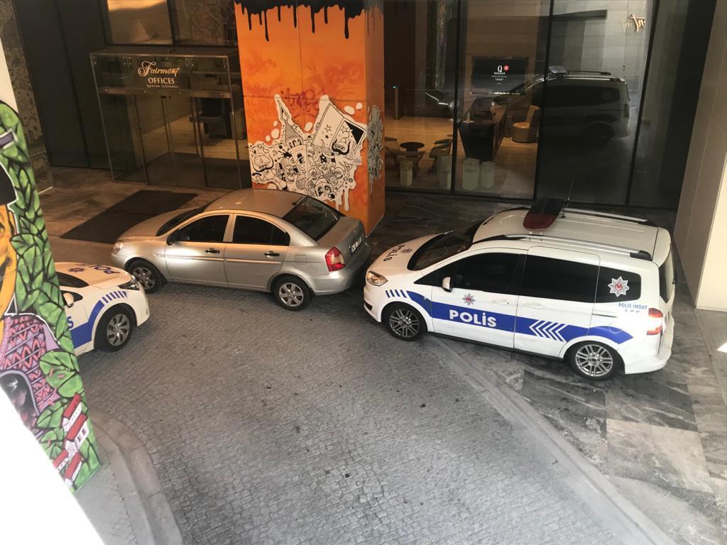 Şişli'de rezidansta 3 kişiye silahlı saldırı