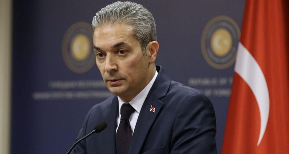 Türkiye'den Mısır'a cevap