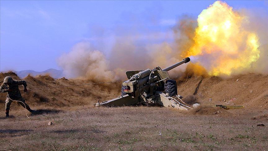 İşgalci Ermenistan bugün de sivil yerleşim yerlerine ateş açtı!