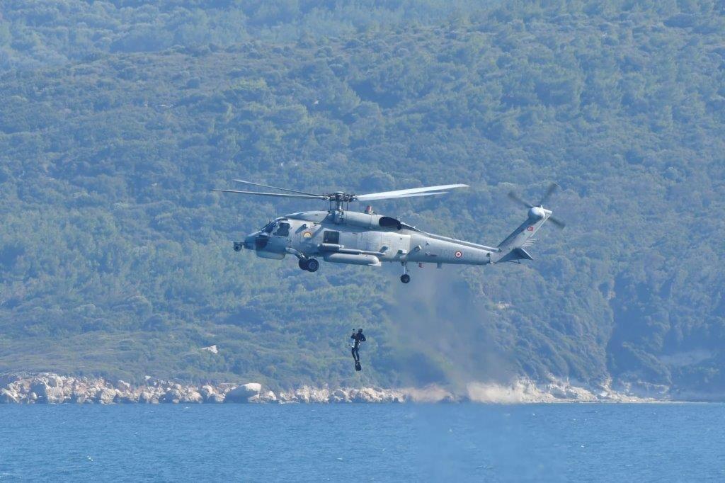 MSB bu görüntülerle açıkladı: Deniz safhası tamamlandı