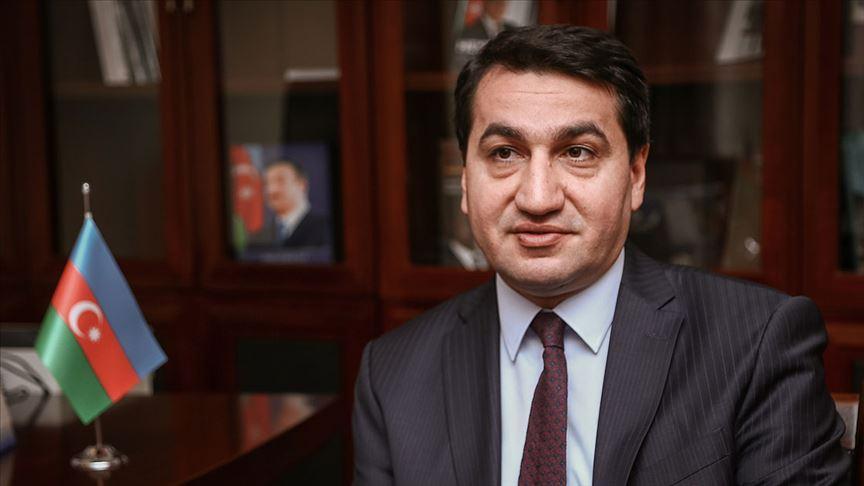 Azerbaycan Cumhurbaşkanı Yardımcısı Hikmet Hacıyev'den Haber Global'e özel açıklamalar