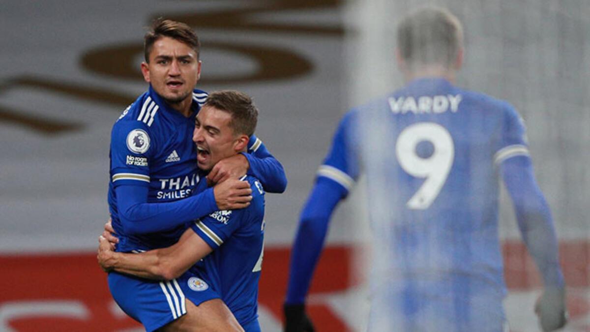 Cengiz Ünder'li Leicester City 47 yıl sonra Arsenal'i yendi