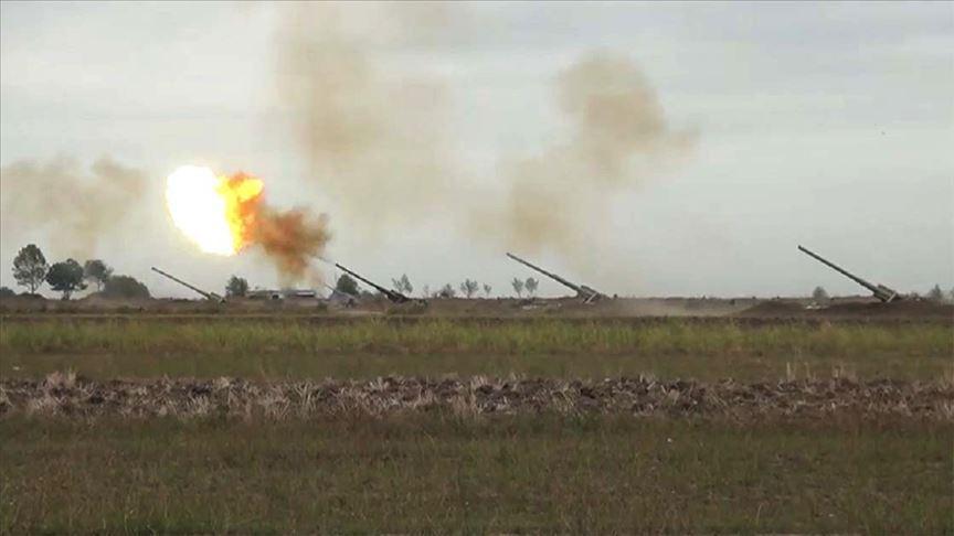 Ateşkese rağmen saldıran Ermenistan askerleri püskürtüldü