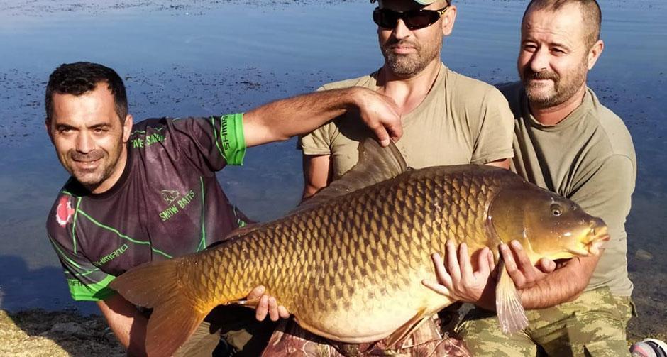Amatör balıkçı yakaladı! Tam 27.5 kilo