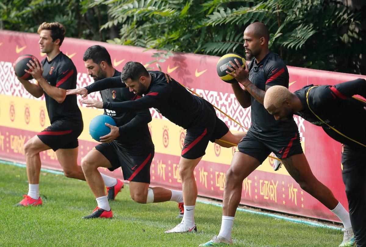 Galatasaray'da Ankaragücü hazırlıkları devam ediyor