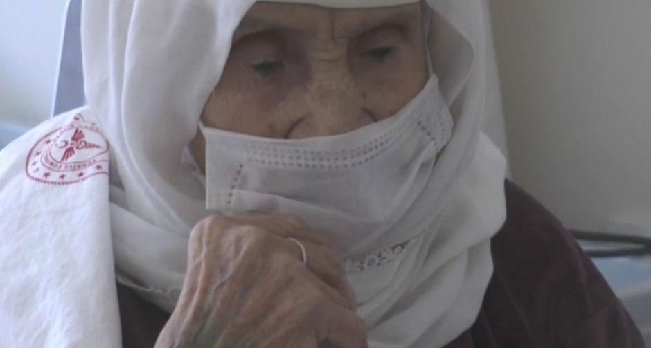 120 yaşındaki kadın 15 günde koronavirüsü yendi