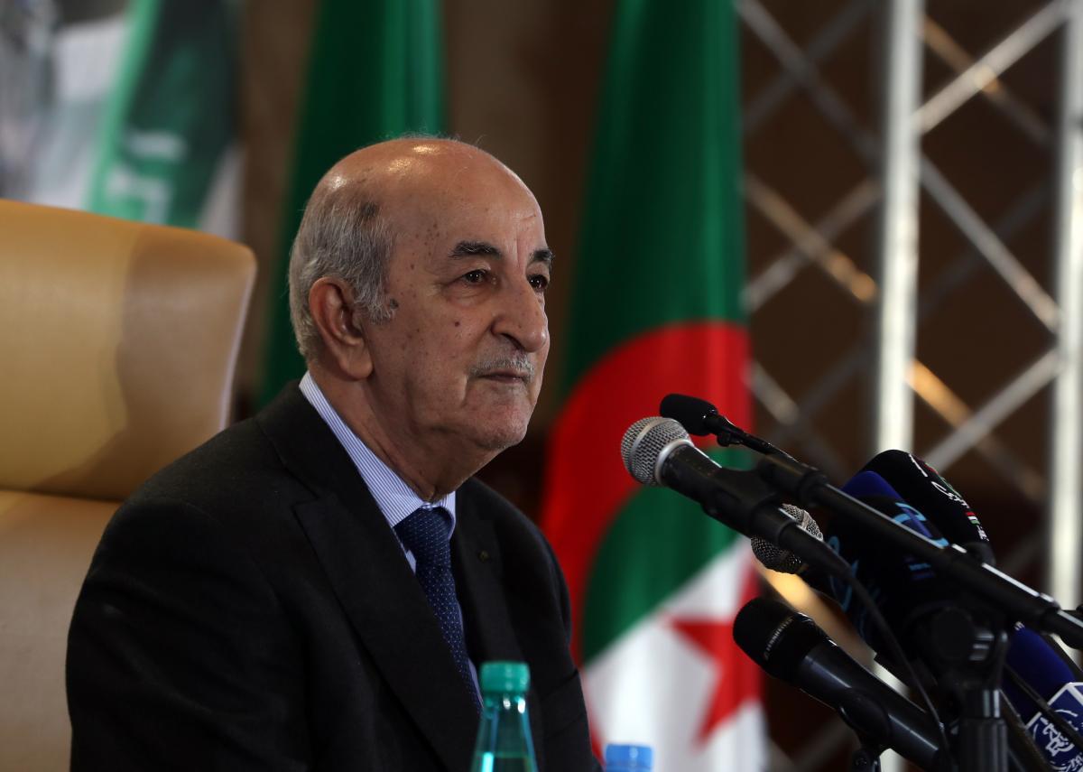 Cezayir Cumhurbaşkanı hastanede tedavi altına alındı