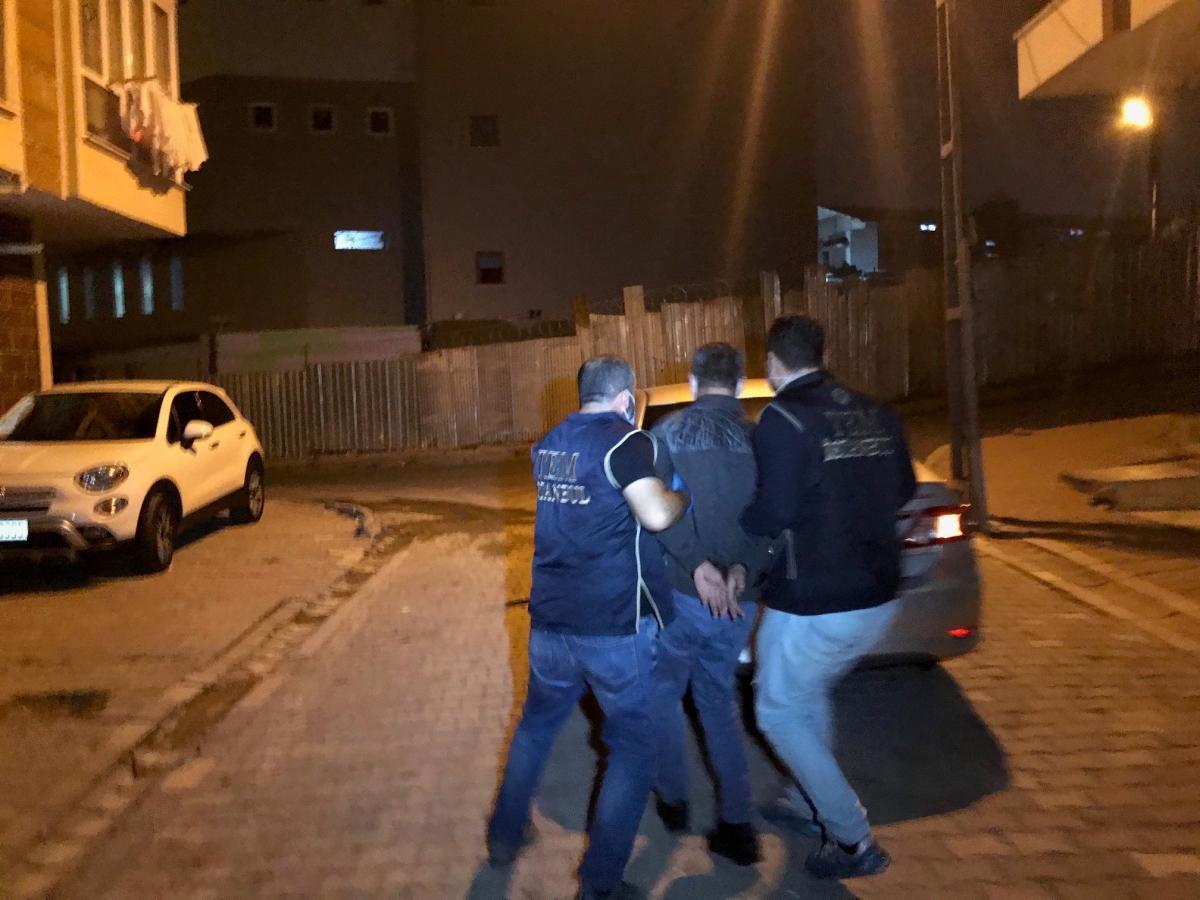 PKK'ya 10 adreste operasyon: 9 gözaltı