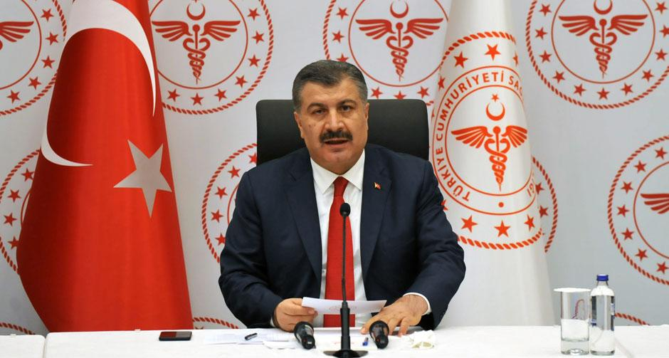 Bakan Koca: Her pozitif çıkan 10 kişiden 4'ü İstanbul'da