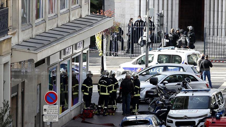 Cumhurbaşkanlığı'ndan Fransa'daki saldırıya kınama