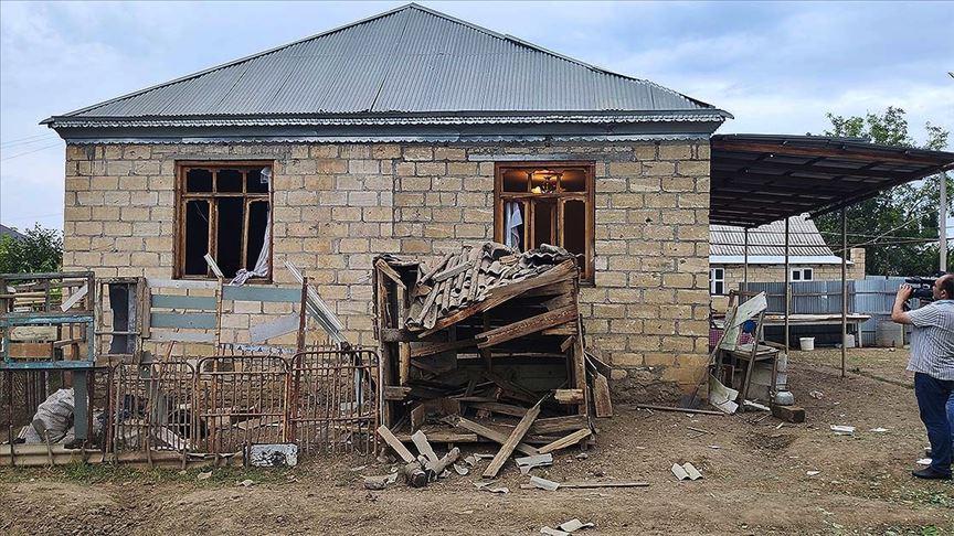 Ermenistan Goranboy'a saldırdı! Bir sivil hayatını kaybetti