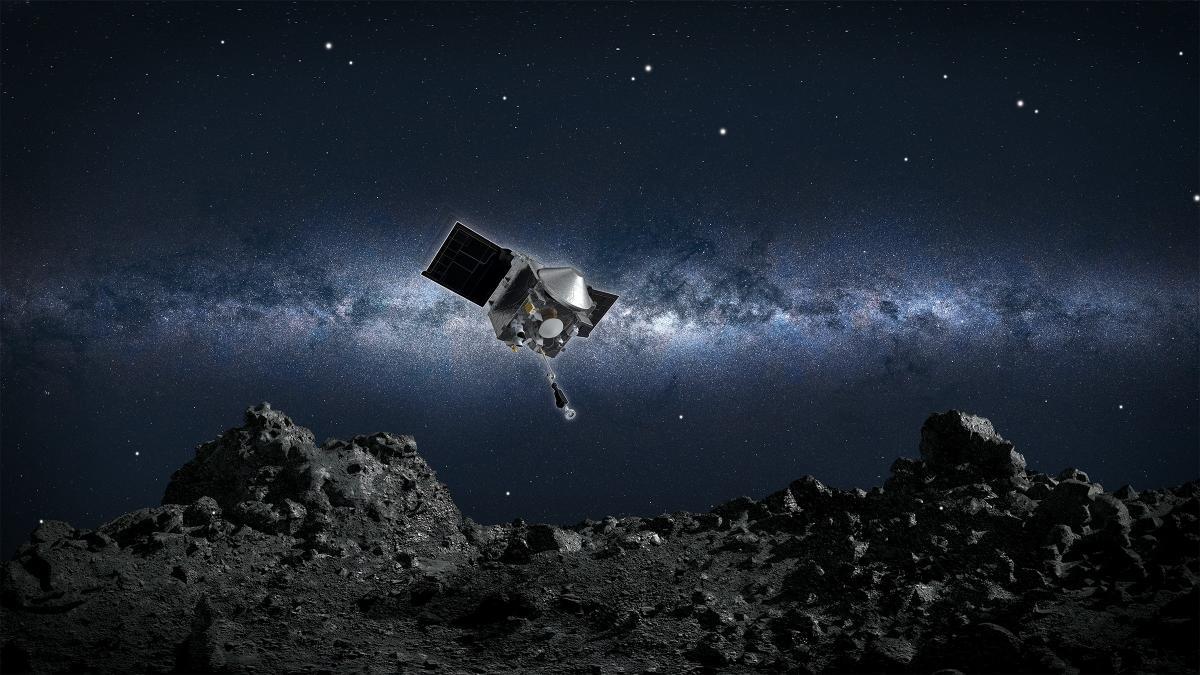 NASA duyurdu! Gök taşı örnekleri dünyaya gönderiliyor
