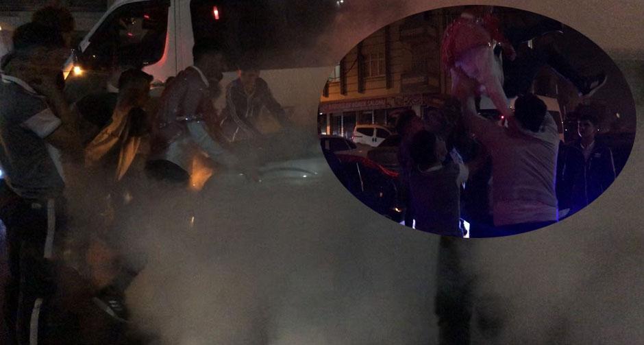 Salgının merkezi İstanbul'da skandal görüntüler
