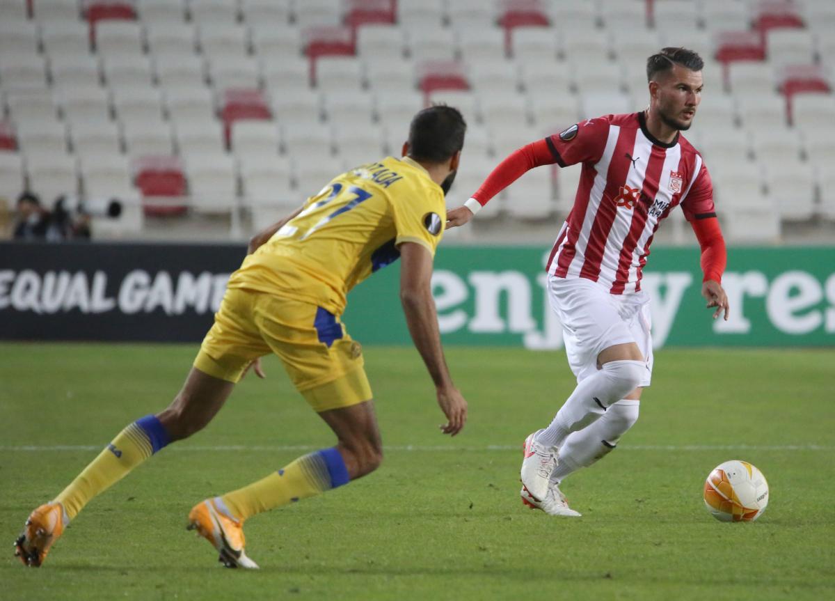 Sivasspor: 1 - Maccabi Tel Aviv: 2   MAÇ SONUCU