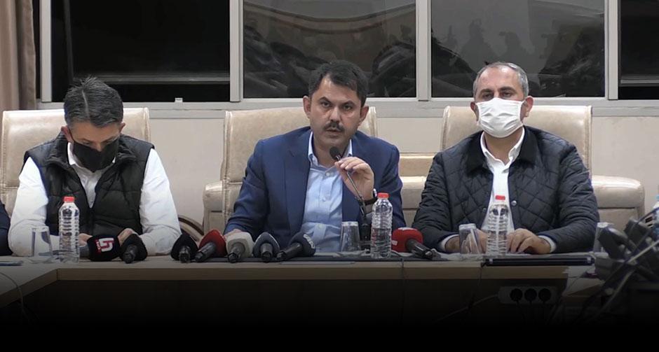Bakanlar, İzmir'deki depreme ilişkin son durumu açıkladı