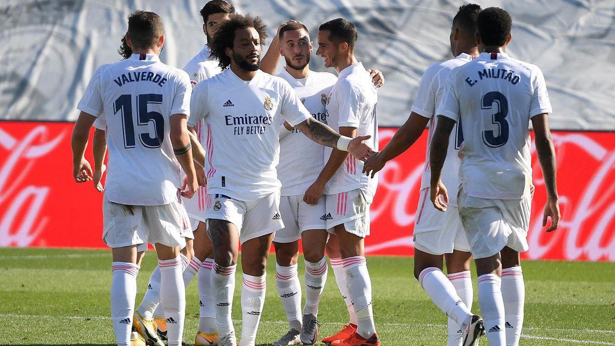 Real Madrid evinde farkı kazandı