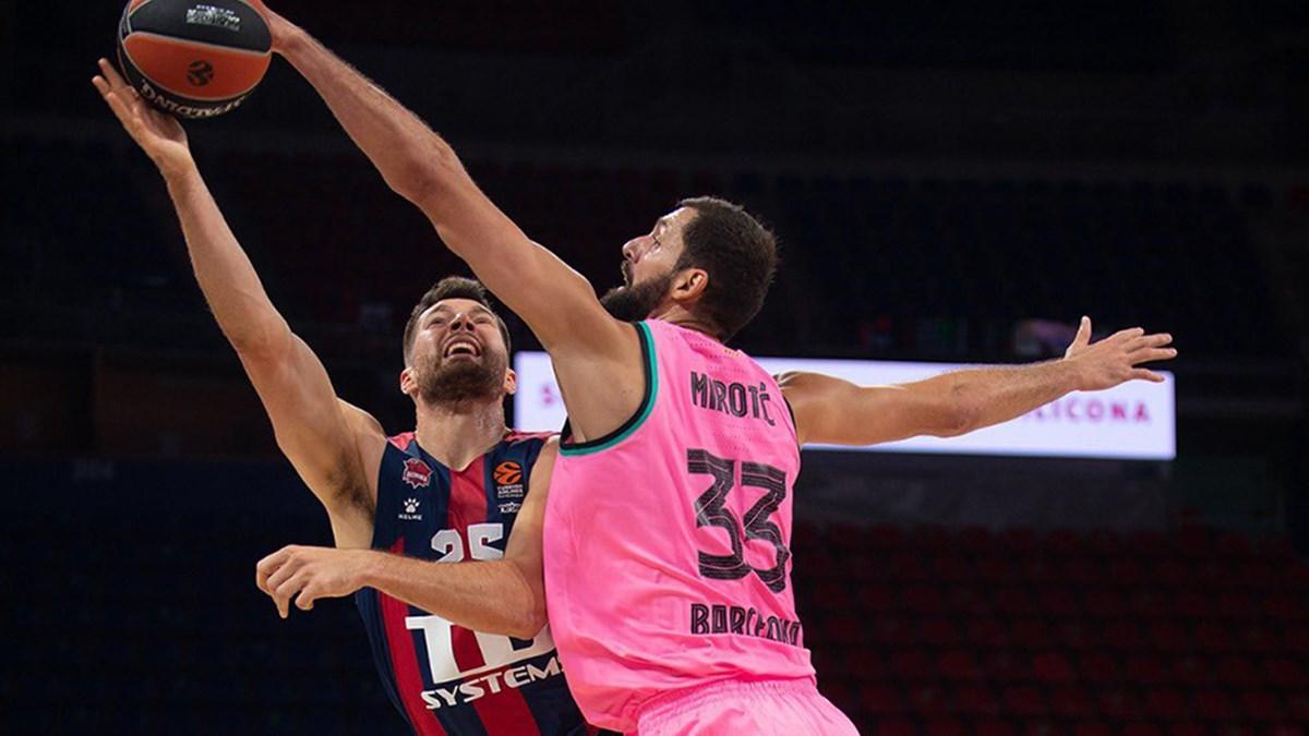 THY EuroLeague'de 6. haftanın MVP'leri Mirotic ve Grigonis